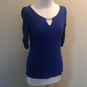 Sz M Blue top from WH/BM